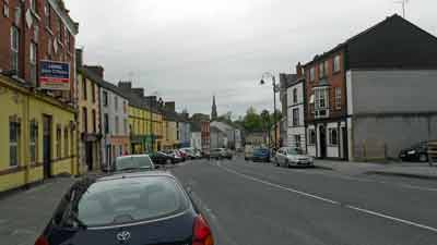 Photograph of Main Street Ballybay