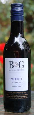 Photograph of B & G Wine Bottle